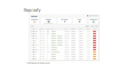 Reposify Launches Reposify Optimizer to Dramatically Shorten Teams' Path From Issue Detection to Remediation