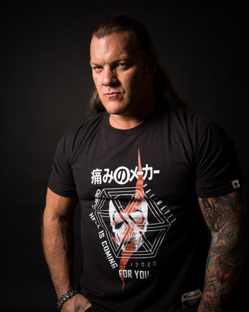 Chris Jericho Unveils Painmaker Apparel Collection
