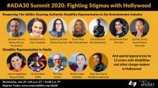 ADA30 Summit 2020: Fighting Stigmas with Hollywood