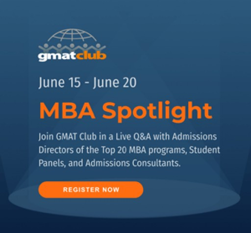 GMAT Club Announces the Largest Virtual Top 20 MBA Fair Ever Held