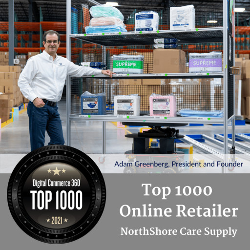 NorthShore Care Supply Featured in Top 1000 List for 6th Consecutive Year