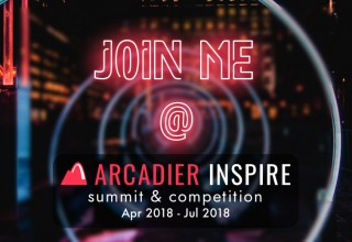 Join me @ Arcadier Inspire Summit & Competition