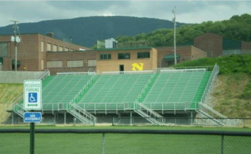Grandstand Project for Narrows High School
