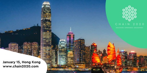 Over 10,000 Participants Expected to Attend Chain2020 Blockchain Initiatives Event in Hong Kong