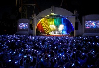 Xylobands Light Up at a Private Event at Universal Resorts Honoring the Orlando Gay Community