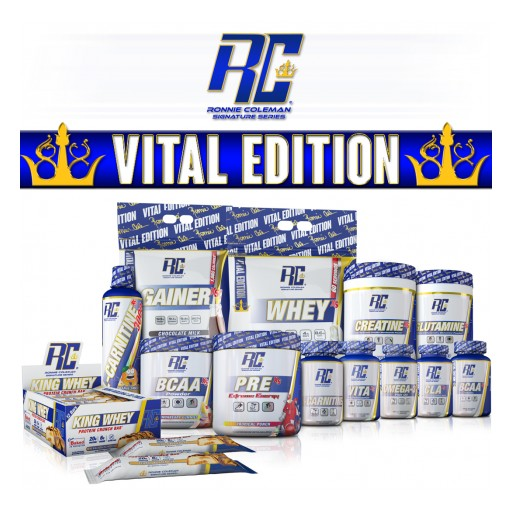Ronnie Coleman Signature Series® Makes Big Moves in the USA and Abroad