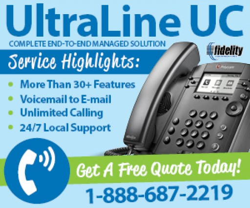 Fidelity Communications Releases UltraLine UC, a Cloud-Based Communications Service for Local Businesses