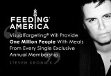 VisualTargeting® CEO Steven Kronick is Feeding America
