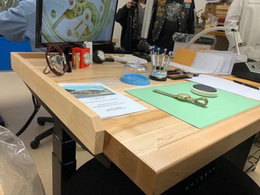 Union Carpenters Local 252 Helps to Construct 10 Workstation Tables for Watchmaker's Initiative