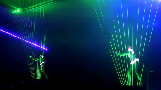 Light Shapers - Laser Performances TLC Creative