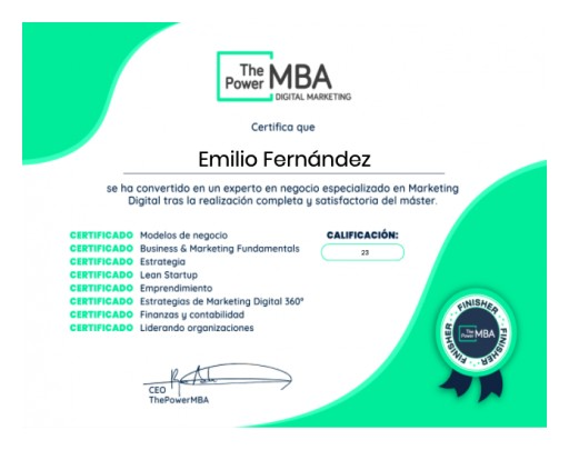 ThePowerMBA and Accredible: The Power of Digital Credentials