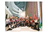 Youth delegates to the 13th annual International Human Rights Summit at United Nations Headquarters