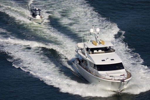 Nautic Alert Tender Watch™ Helps Prevent Loss of a Yacht's Tender While Under Tow