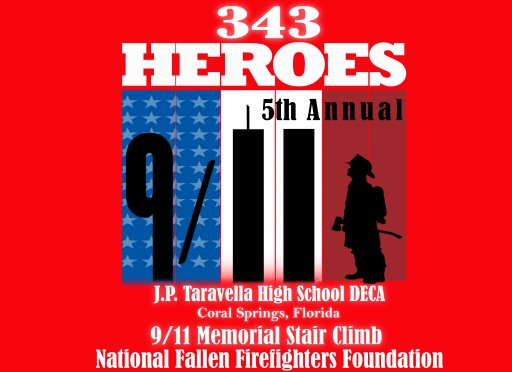 JP Taravella DECA Hosts 5th Annual 9/11 Memorial 110-Story Stair Climb