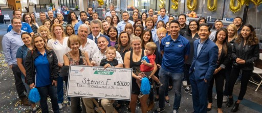 Credit Union Awards a $10,000 Prize to Local Saver