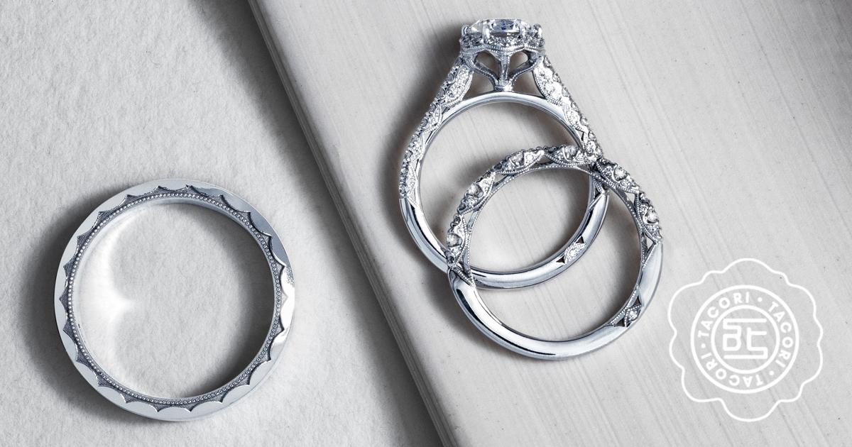 Gmg Jewellers Offers Savings On Tacori Wedding Rings During Wedding
