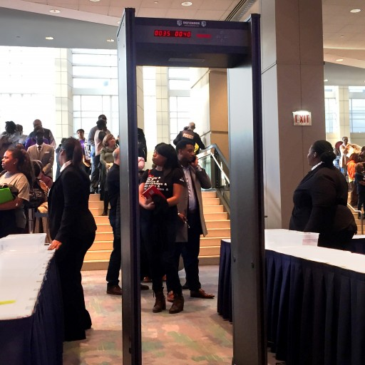 Metal Defender Provides Walk Through Metal Detectors at McCormick Place Chicago for Obama Foundation