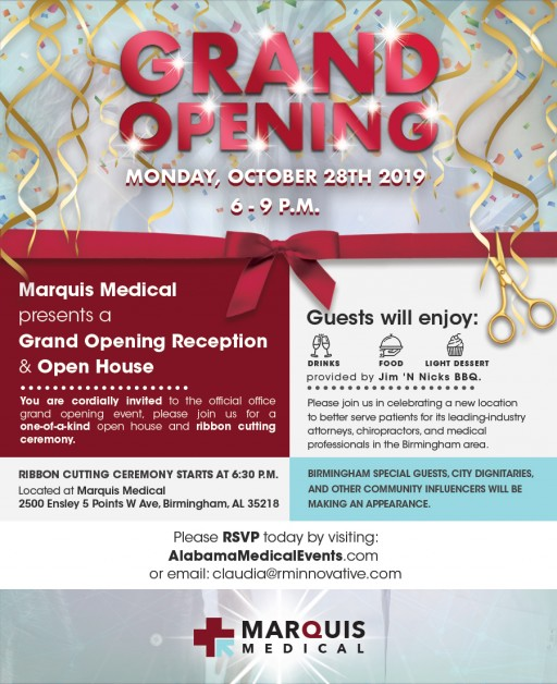 Marquis Medical Center Hosts Grand Opening for New Birmingham Location