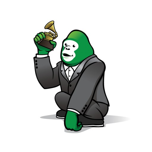 Green Gorilla Featured in the 58th Annual GRAMMY Awards® Gift Bags