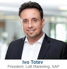 Ivo Totev, President, LoB Marketing, SAP