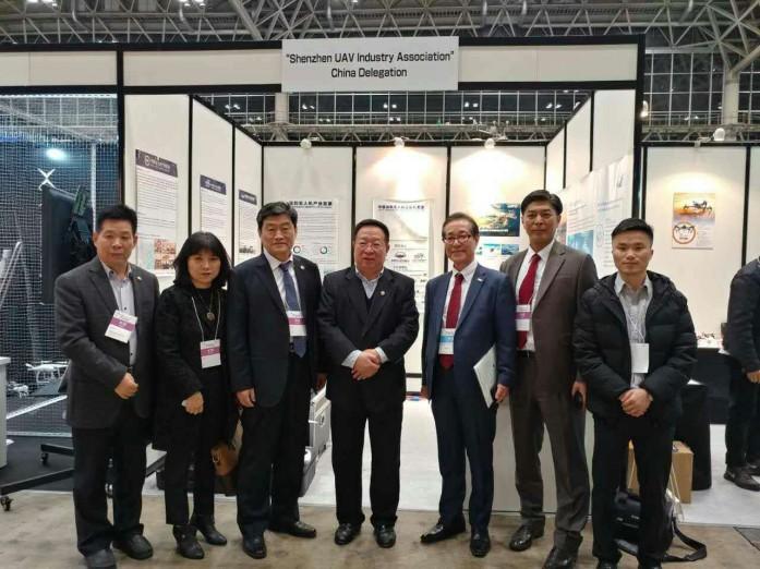 JTT UAV and Shenzhen Delegation at Japan drone 2017