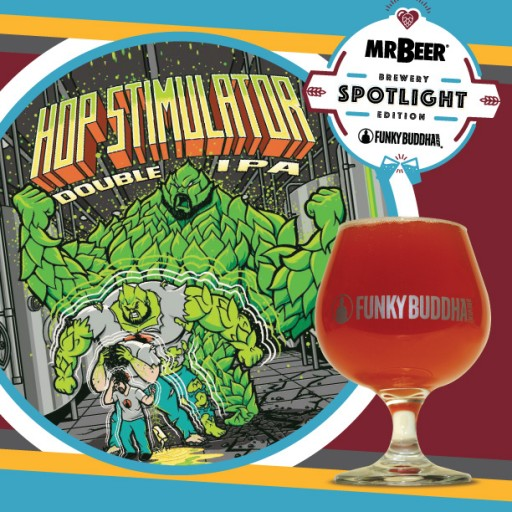 Mr. Beer Teams Up With Funky Buddha Brewery to Release Hop Stimulator Double IPA Homebrew Recipe