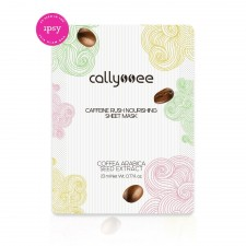 Callyssee Caffeine Rush Nourishing Sheet Mask