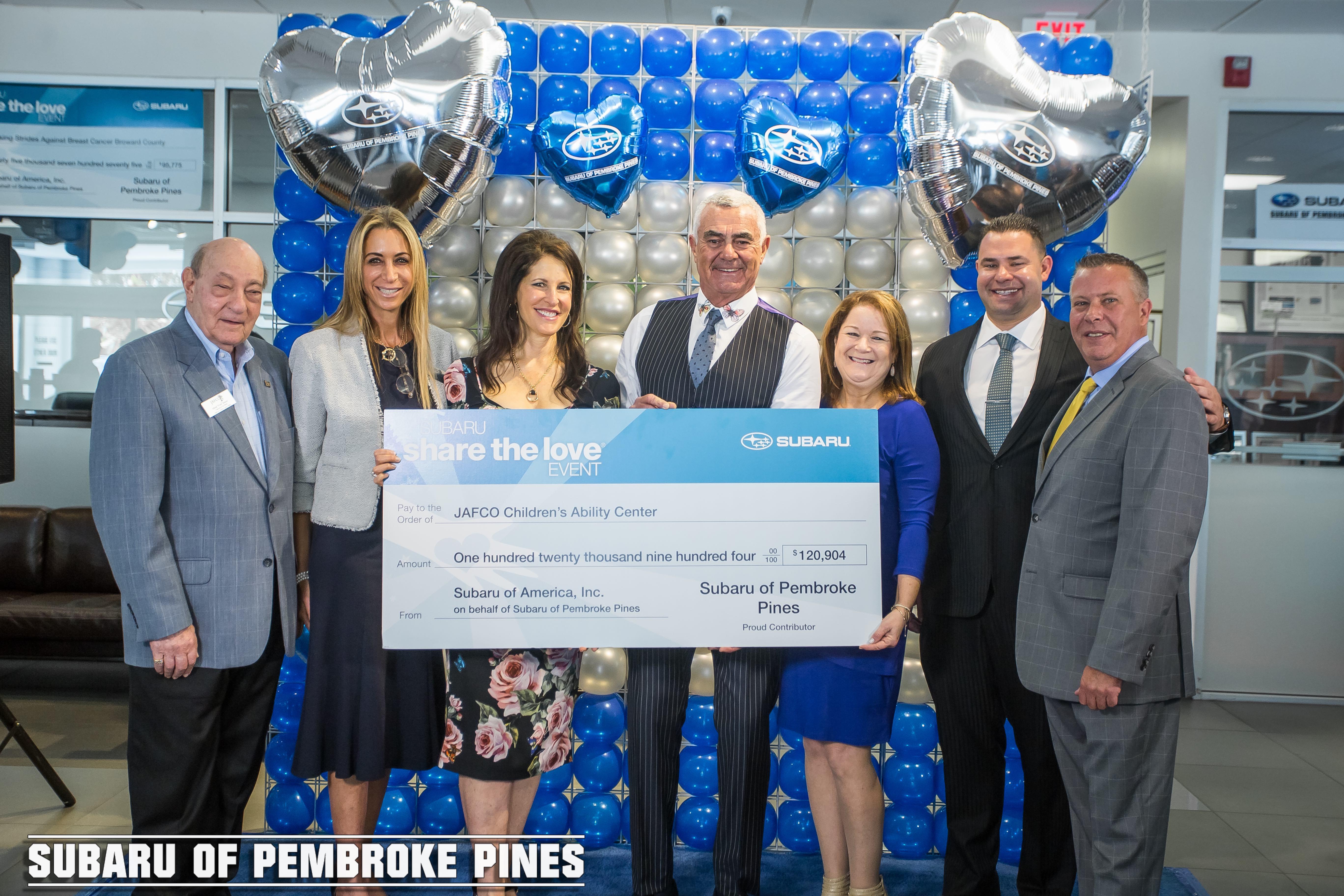 Subaru Of Pembroke Pines >> Subaru of Pembroke Pines and Craig and Martine Zinn Host