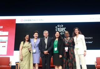 Panelists at IWEC 2018