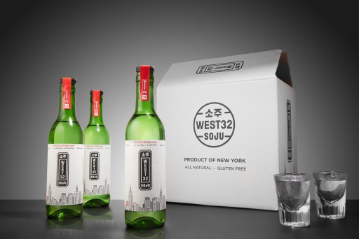 West 32 Soju Wins Gold Medal at 2017 New York International Spirits Competition