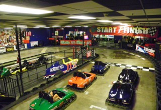 Indoor Go-Karts at Incredible Pizza Company