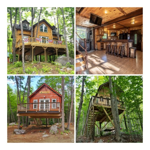 Family in Maine Giving Away Entire Treehouse Resort, Plus $25,000, Through Photo Contest