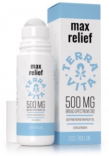TerraVita CBD Max Relief Gel Roll-On