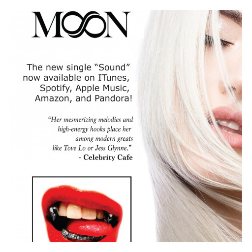 "Betty Moon Named Top 5 Trending Female Canadian Artist as Her New Music Video ""SOUND"" is Set for an April 12th Canadian Premiere!"