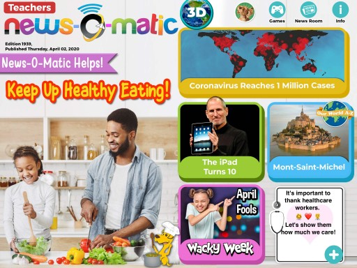 News-O-Matic's Coronavirus Coverage Earns Honor From the World Association of News Publishers for Engaging Young Audiences