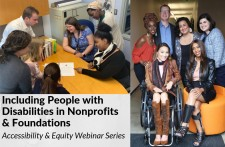 Including People with Disabilities in Nonprofits and Foundations Accessibility and Equity Webinar Series