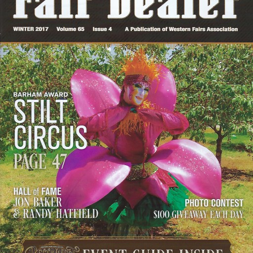 Stilt Circus Receives the 2017 Barham Award From the Western Fair Association