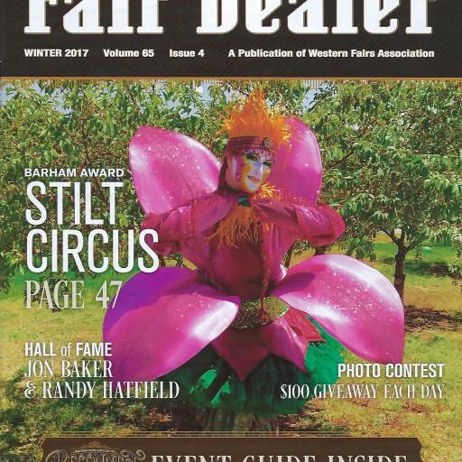 Stilt Circus Receives the 2017 Barham Award From the Western Fair Association