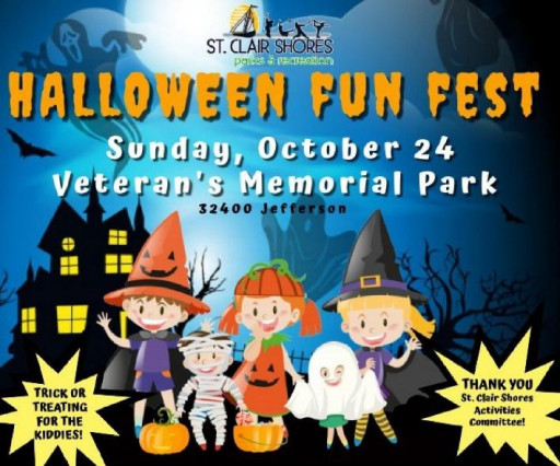 Celebrate Halloween With Michael Agnello at the St. Clair Shores Halloween Fun Fest