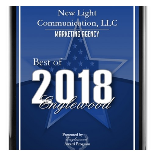 New Light Communication, LLC Receives 2018 Best of Englewood Award