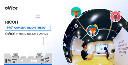Ricoh's 360° Streaming Service Teams Up With oVice Virtual Space
