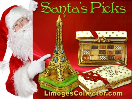 LimogesCollector.com Announces Santa's Holiday Picks for Luxury Limoges Box Gifts for All