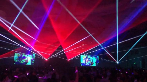 Immersive Lasershow with Xylobands