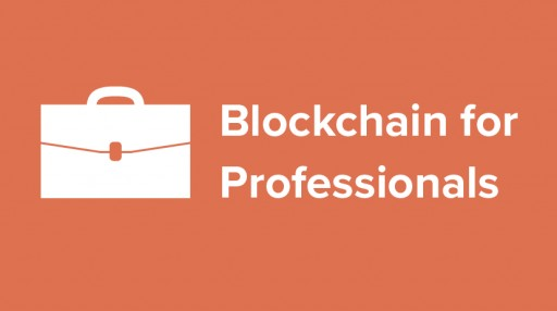 Meet Blockchain for Professionals: No Programming Experience Required
