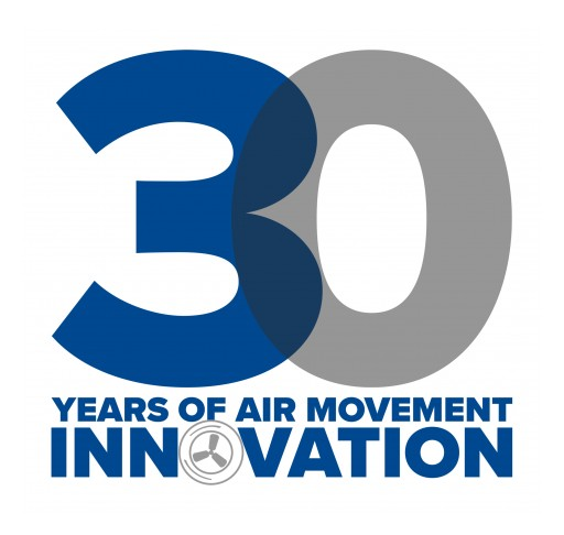 Patterson Fan is Celebrating 30 Years of Air Movement Innovation and Growth