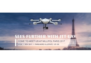 Full Anti-Terror Solutions With JTT UAV Will Be Presented in Milipol Paris 2017