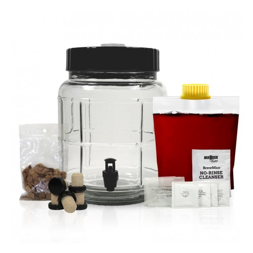 Mr. Beer Unveils Small & Savvy One-Gallon Wine Kits