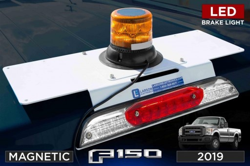 Larson Electronics LLC Releases No Drill Rooftop Magnetic Mount for 2019 Ford F150 Trucks With LED Brake Lights