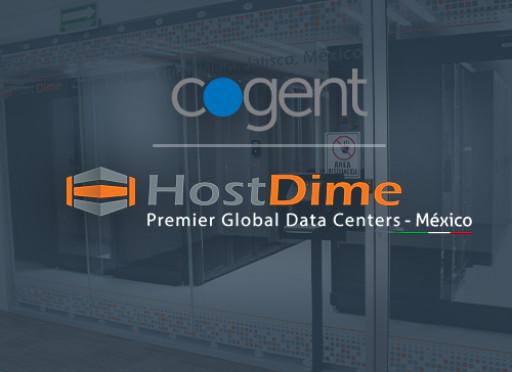 Cogent Deploys PoP in HostDime's Guadalajara Mexico Data Center