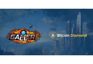 GamerAll & Bitcoin Diamond Logo